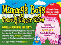 The Comedy Dining Experience - click to enlarge