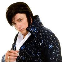 Darren Alboni as Elvis - click to enlarge