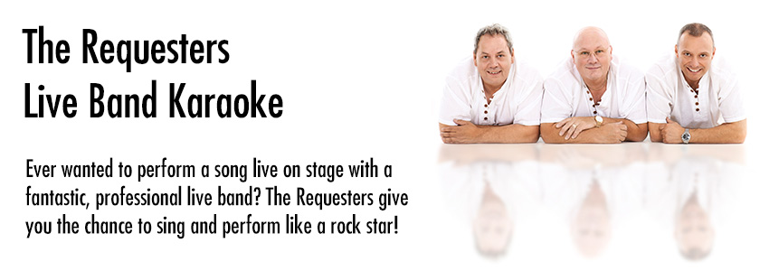The Requesters - Live Band Karaoke