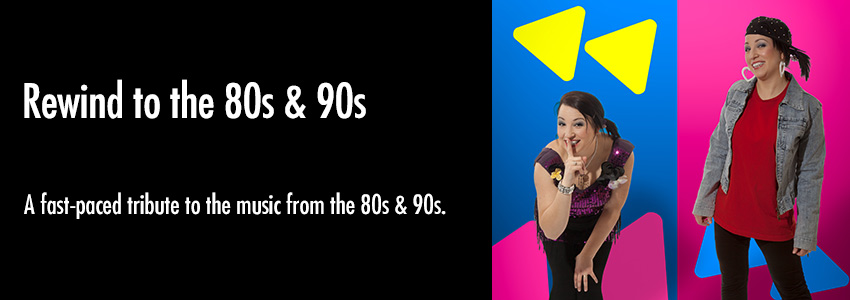 Rewind to the 80s & 90s