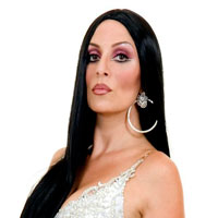 Tania Alboni as Cher - click to enlarge
