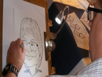 The Event Caricaturist - click to enlarge